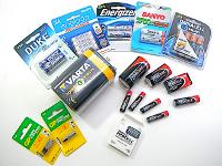 AA/AAA/AAAA/C/D/ 9V and Specialty Batteries